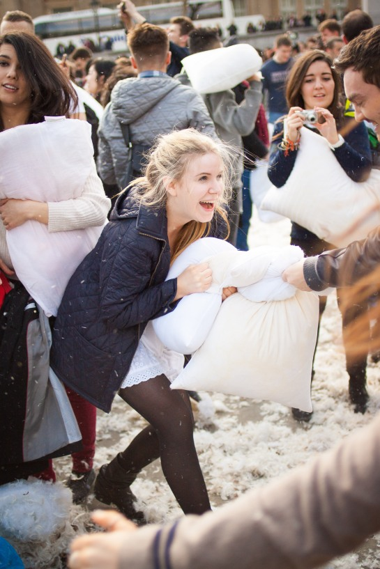 World Pillow Fight Day 2013 - London (16 of 54)