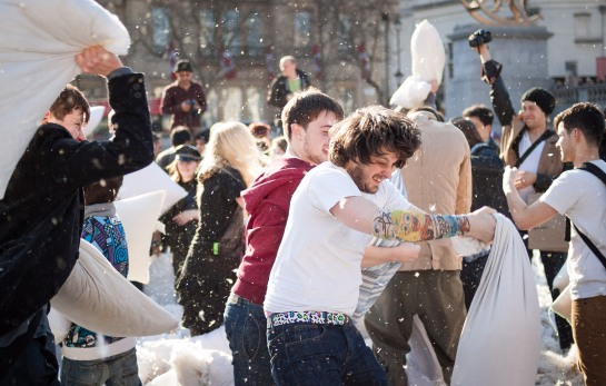 World Pillow Fight Day 2013 - London (51 of 54)