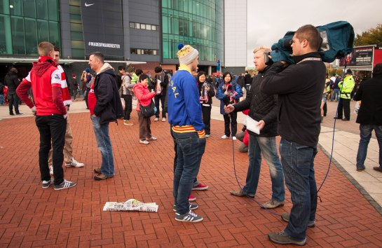 Arsenal fans interviewed by Sky Sports.